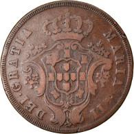 Monnaie, Azores, 20 Reis, 1843, TB+, Cuivre, KM:12 - Azores