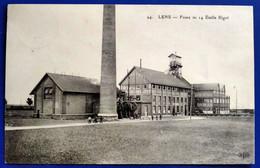 Carte Postale Ancienne - LENS - Fosse N°14  Emile Bigot - Mijnen