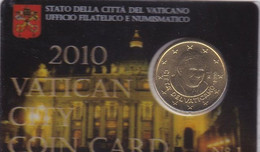 Vatican - 50 Cent 2010 UNC In Folder Lemberg-Zp - Vatican