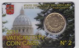 Vatican - 50 Cent 2011 UNC #2 In Folder Lemberg-Zp - Vatican