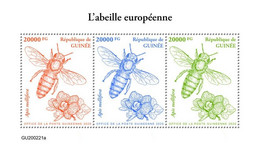 GUINEA 2020 - Honey Bee. Official Issue [GU200221a] - Honingbijen