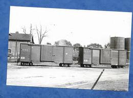 Matériel Ferrovière Pitiviers Thoury ? Wagons à Logges Des T.P.T Photo Vie Du Rail Numérotée B 17169 19 Photo Debrun - Equipo