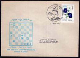 Argentina - 1993 - Lettre - Cachet Spécial - Enveloppe Thématique - Tournois - Thème Des échecs - A1RR2 - Scacchi