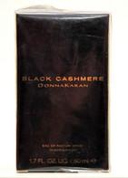 Donna Karan Black CashmereEau De Parfum Edp Spray 50ml Fl. Oz. 1.7 Perfume Woman Rare Vintage Old 2002 - Dames