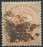 SPAIN 1872 - Canceled - Sc# 188 - 4P - Gebraucht