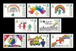 Guernsey 2020 Mih. 1799/806 Fight Against COVID-19 Coronavirus. Children's Drawing Competition #GuernseyTogether MNH ** - Guernsey