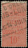 COLIS POSTAUX  (N° Et Cote Maury) - 2    10c. Rouge, Dentelé 13 1/2, Obl., TB - Usados