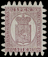 (*) FINLANDE 5 : 5p. Brun-lilas Sur Gris, Une Dc, Sinon TB - Unused Stamps