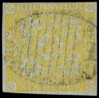 NOUVEAU BRUNSWICK 2 : 6p. Jaune, Obl., TB. J - Used Stamps
