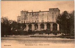 41ths 91 CPA - RABASTENS - CHATEAU DE SAINT GERY - Rabastens