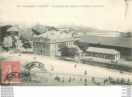 """Promotion Club 2 X Cpa 44 SAINT-NAZAIRE. Penhoët Ateliers Chantiers 1907 Et Paquebot """" Espagne """" - Saint Nazaire"""