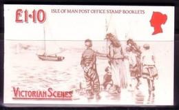 ISLE OF MAN MH 14 POSTFRISCH(MINT) VIKTORIANISCHE SZENE 1987 - Isla De Man