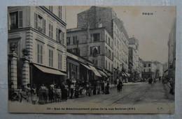 CPA 1909 Paris - Rue De Ménilmontant Prise De La Rue Sorbier - Arrondissement: 20