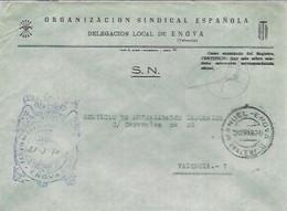 CARTA   1970 GOMIGRAFO .E.T Y LAS J.O.N.S  DE ENOVA - Franquicia Postal