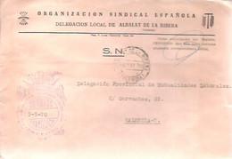 CARTA   1970 GOMIGRAFO .E.T Y LAS J.O.N.S  DE ALBALAT DE LA RIBERA - Franquicia Postal