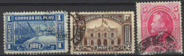 Peru 1897. Mi.Nr. 112-114, Used O - Peru