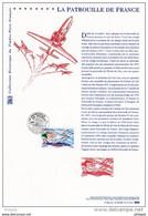 """FRANCE 2008 : """" LA PATROUILLE DE FRANCE """" Sur Document Philatélique Officiel N° YT PA 71 DPO - Documentos Del Correo"""