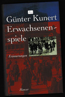 Biographie Erwachsenen Spiele Erinnerungen Gunter Kunert - Biographies & Mémoirs