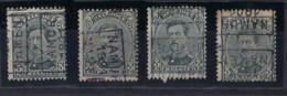 Koning Albert I Nr. 183 Voorafgestempeld Nr. 2740  A + B + C + D  NAMUR  1921  NAMEN  ; Staat Zie Scan ! - Roller Precancels 1920-29