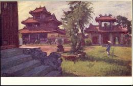 Artiste CPA Hue Vietnam, Pagode Royale - Vietnam