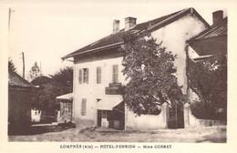 01 AIN L'Hôtel Pension De Mme Corbet à LOMPNES - Hauteville-Lompnes