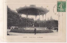 Luçon Le Kiosque  Carte Postale Animee  1913 - Lucon