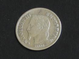 20 Centimes Napoléon III 1867 BB Tête Laurée  **** EN ACHAT IMMEDIAT **** - E. 20 Centesimi