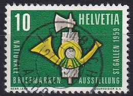 344 / 669 Mit Vollstempel LEIMBACH (AARGAU) - Usados