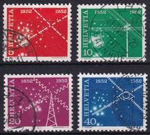 309-312 / 566-569 Sauber Gestempelte Serie - Usados