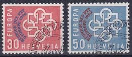 349-350 / 681-682 Sauber Gestempelte Serie - Usados