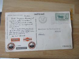 1952 Falkland Islands , Ionyl La Biomarine Dieppe - Other