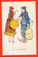 FRI050 ⭐ Illustration Maurice LEROY Marraines Et POILUS à Geneviève CAHUZAC-GALLAIS 94 - Andere Illustrators