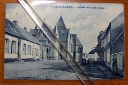 Deux-Acren Eglise  édit. Van Nieuwenhove Lessines 1910 - Lessines
