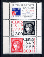 RC 19284 FRANCE P3212A ANNIVERSAIRE DU 1er TIMBRE 3211 + 3212 NEUF ** - Unused Stamps