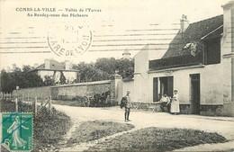 COMBS LA VILLE - Vallée De L'Yerres, Café Guillaume.au Rendez-vous Des Pêcheurs. - Combs La Ville