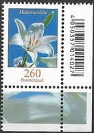 2016 Deutschland Allem. Fed.  Mi. 3207 **MNH EUR   Blumen :  Madonnenlilie - Ongebruikt