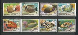 Zaire 1980 Fish Y.T. 995/1002 (0) - Pesci