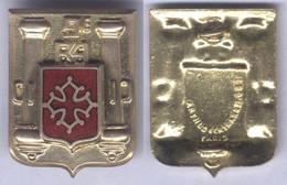 Insigne Du 9e Régiment D'Artillerie - Esercito