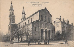 LUDWIGSHAFEN - N° 16 - EGLISE SAINT LOUIS - Ludwigshafen