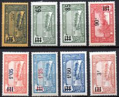 Col19  Guadeloupe  N° 89 à 96 Neuf X MH   Cote 10,20€ - Nuevos