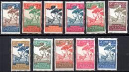 Col19  Nouvelle Calédonie Taxe   N° 26 à 36 Neuf X MH   Cote 11,10€ - Postage Due