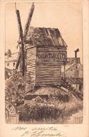 PARIS 18 -  MONTMARTRE  - Moulin DE LA GALETTE ( Carte Ancienne Illustrée Par Eugene DELATTRE Peintre Graveur ) - Distrito: 18