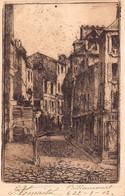 PARIS 18 -  MONTMARTRE  - Rue NORVINS ( Carte Ancienne Illustrée Par Eugene DELATTRE Peintre Graveur ) - Distrito: 18