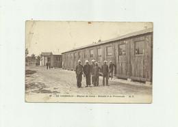 33 - LE COURNEAU - Hopital Du Camp Malades A La Promenade Animé état Voir Scan ( Petits Défauts ) - Altri Comuni