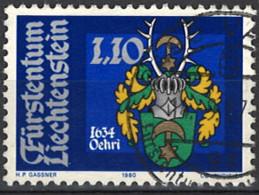 Liechtenstein 1980. Mi.Nr. 746, Used O - Oblitérés
