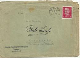 German Reich. Cover/Brief. Bremen 1931. - Storia Postale