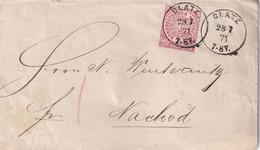 NORDDEUTSCHER BUND  1871 LETTRE DE GLATZ - Norddeutscher Postbezirk