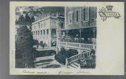 Stresa Veduta Di Villa Stresa VIAGGIATA 1899 COD.C.085 - Other Cities