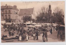 Saint-Quentin (Aisne) - Le Marché Aux Fleurs LL 64 - Saint Quentin