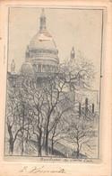 PARIS 18 - MONTMARTRE Basilique Du Sacré COEUR( Carte Ancienne Illustrée Par Eugene DELATTRE Peintre Graveur ) - Distrito: 18